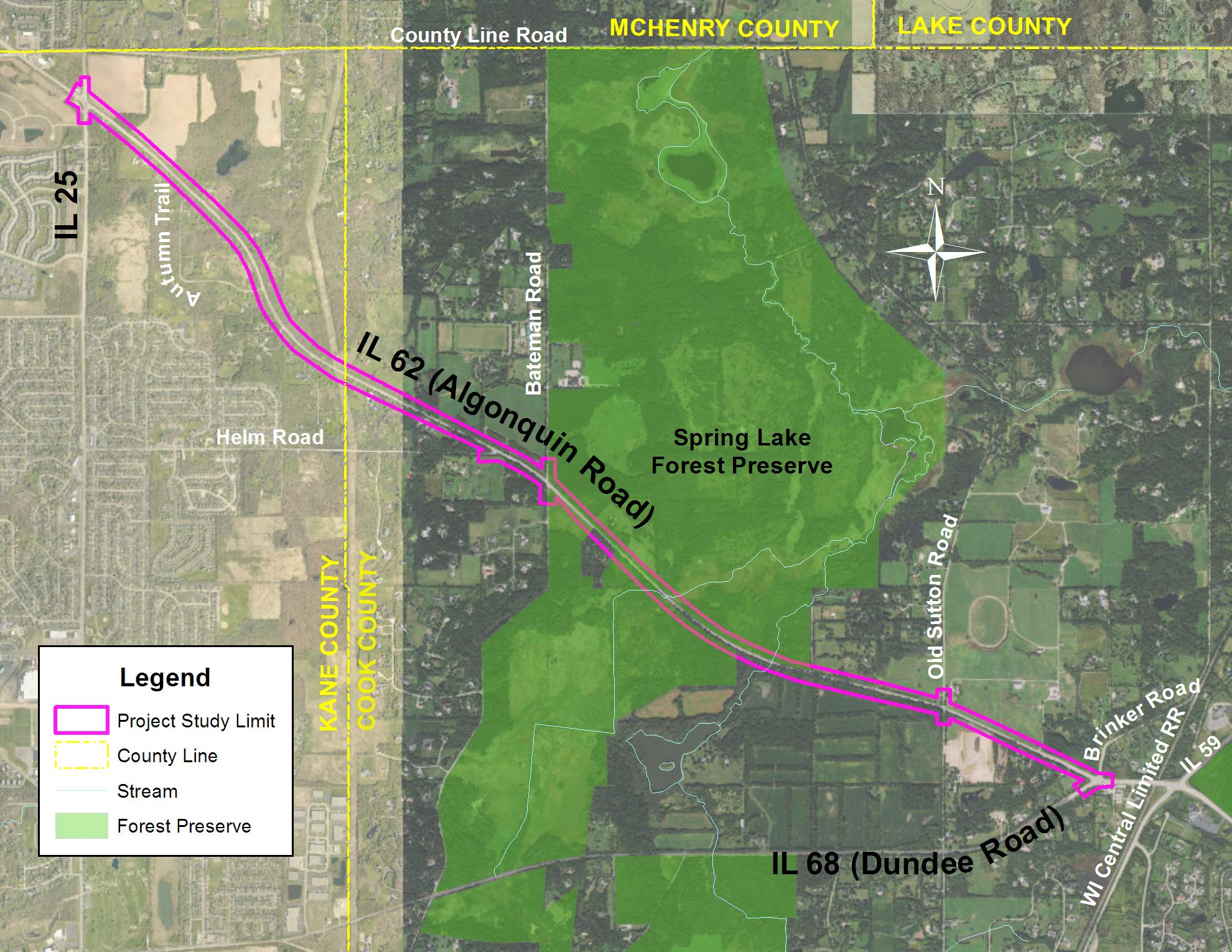 IL62 Study Map